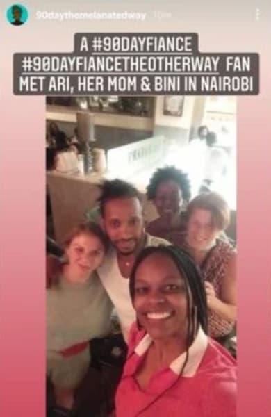 Ariela Weinberg y Biniyam Shibre IG en Nairobi, Kenia