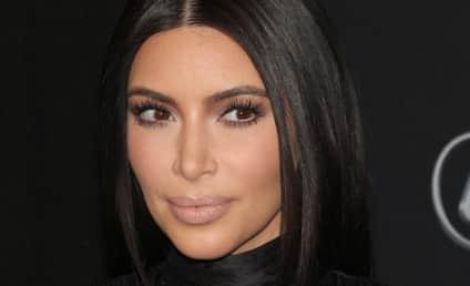 Kim Kardashian: Biggest. Sunglasses. Ever.