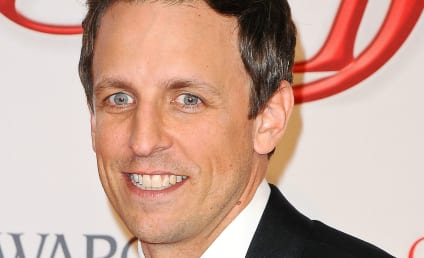 Seth Meyers Rumored to Sit Alongside Kelly Ripa on Live!
