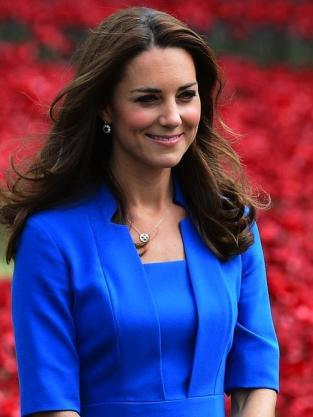 Kate Middleton: Baby Bumpin' in Blue?
