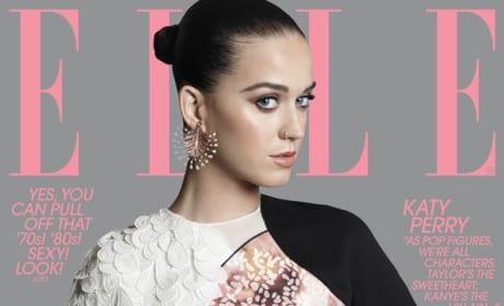 Katy Perry on ELLE