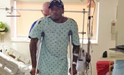 Kevin Ware: Recovering from Surgery, On Crutches
