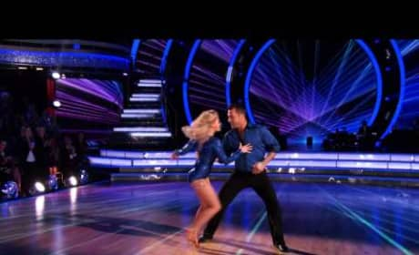 Chris Soules & Witney Carson - Dancing With the Stars Week 2