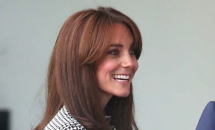 Kate Middleton Returns From Maternity Leave, Flashes Thigh