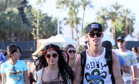 Vanessa Hudgens and Austin Butler at Coachella