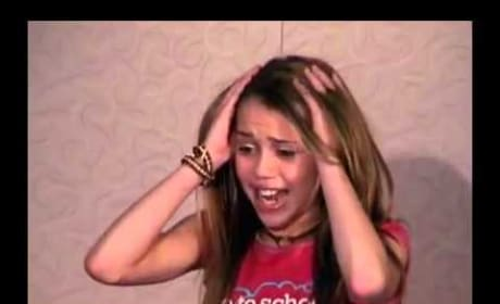 Miley Cyrus' Hannah Montana Audition Video