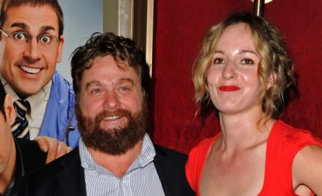 Zach Galifianakis' Wife Quinn Lundberg in Labor