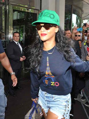 Rihanna on the Street