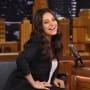 Mila Kunis on Tonight Show