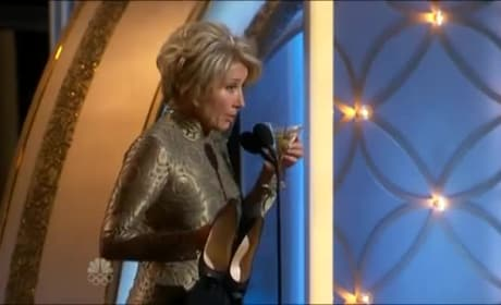 Emma Thompson: Drunk at 2014 Golden Globes?