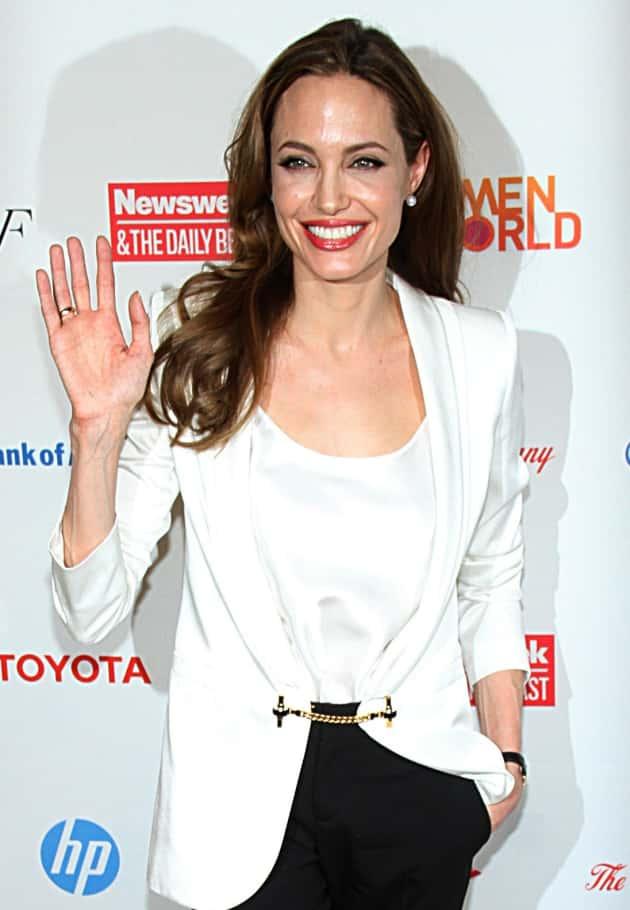 Angelina Jolie Waves