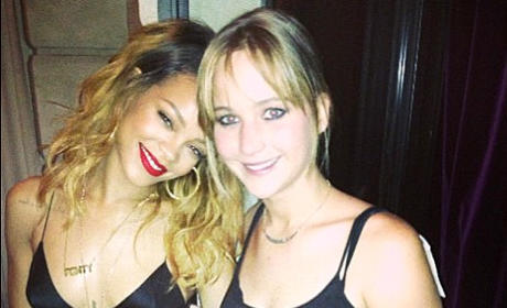 Rihanna or Jennifer Lawrence: Who'd you rather ...