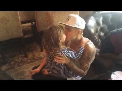 justin bieber bonds with little brother at dads birthday