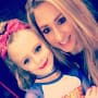 Leah Messer Daughter with Cheerleading Coach