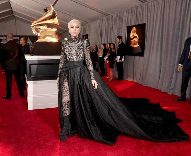 Lady gaga at 2018 grammys