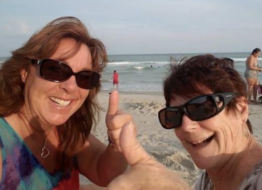Barbara Evans at Myrtle Beach!
