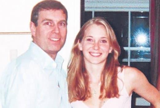 Virginia Roberts, Prince Andrew