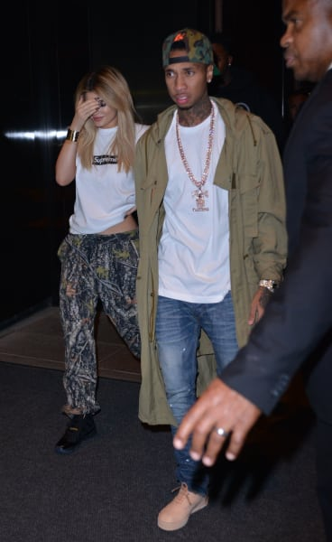 Kylie Jenner and Tyga Get Papped!