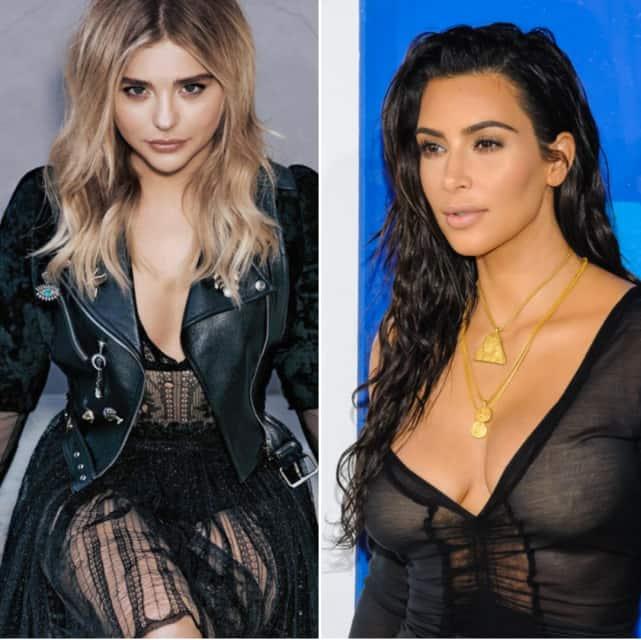 Chloe Moretz vs. Kim Kardashian