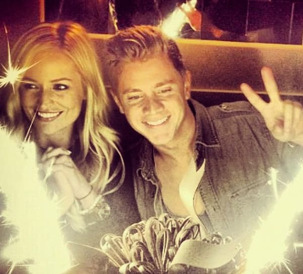 Emily Maynard and Jef Holm