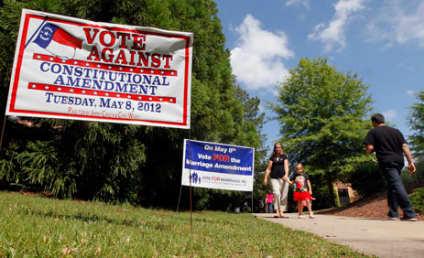 North Carolina Amendment One Bans Gay Marriage in State