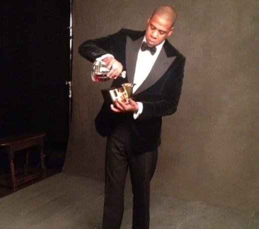 88286870544 Jay-Z Drinks Cognac Out of Grammy Award ... Like a BOSS - The ...
