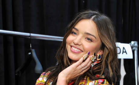 Miranda Kerr Strikes a Pose