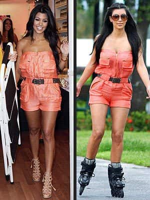 Kourtney vs. Kim
