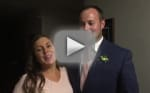 Josh and Anna Duggar at Joseph Duggar's Wedding