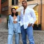 Kourtney Kardashian and Younes Bendjima in Italy