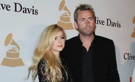 Avril Lavigne and Chad Kroeger: 2016 Pre-GRAMMY Gala And Salute to Industry Icons