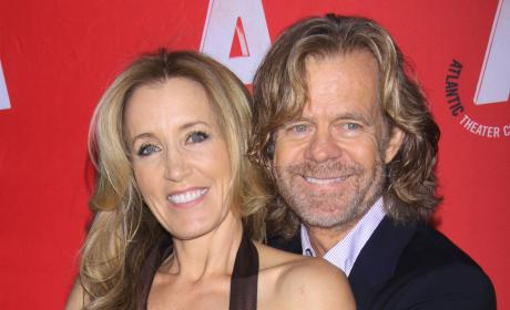 Felicity Huffman and William H. Macy Photo