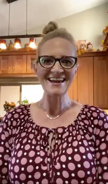Christine Brown en Facebook