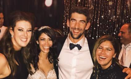 Michael Phelps & Nicole Johnson Celebrate Wedding With New Year's Bash!