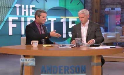Anderson Cooper SLAMS Star Jones for Ratings Game Claim
