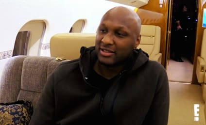 Lamar Odom: Kicked Off Plane While Drunk, Vomiting