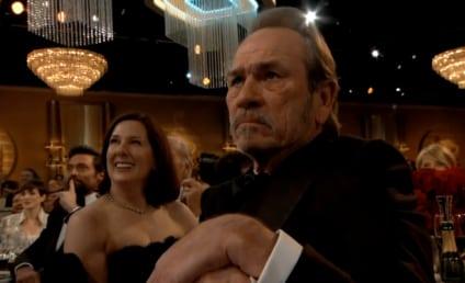 Tommy Lee Jones: Not Impressed at the Golden Globes!