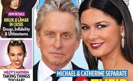 Michael Douglas and Catherine Zeta-Jones: Separated!