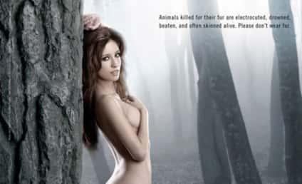 Christian Serratos: Nude for PETA