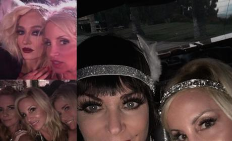 Camille Grammer Party Pics
