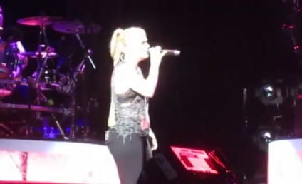Kelly Clarkson Cries Fans a River in Illinois