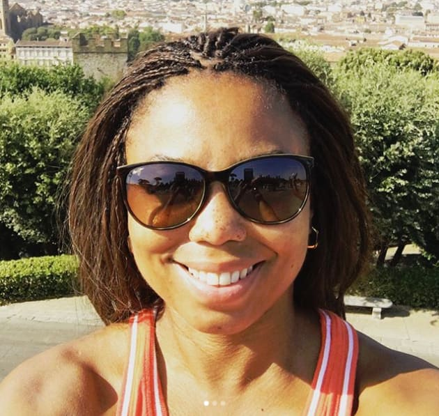 Jemele Hill Enjoys Herself in Florence