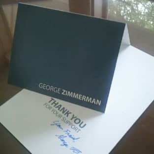 George Zimmerman Autograph