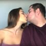 Anfisa and jorge kiss