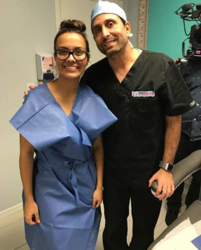 Briana and Dr. Miami