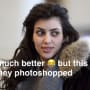 Kim Kardashian Pokes Fun at Meme of her