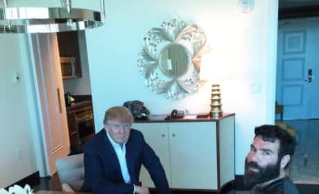 Donald Trump, Dan Bilzerian Photo