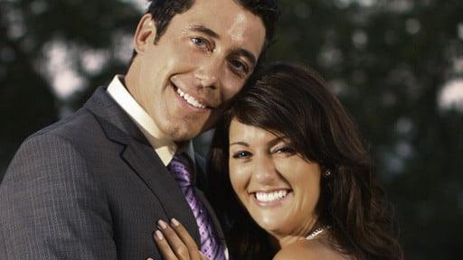 Ed Swiderski and Jillian Harris
