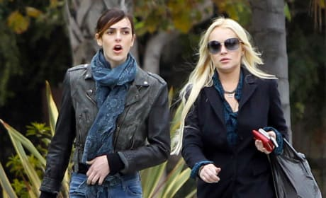 Ali and Lindsay Lohan Picture