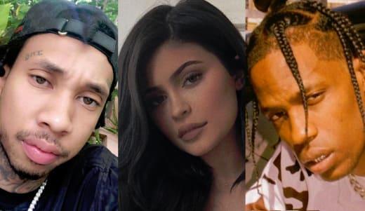 Tyga, Kylie Jenner, Travis Scott Split